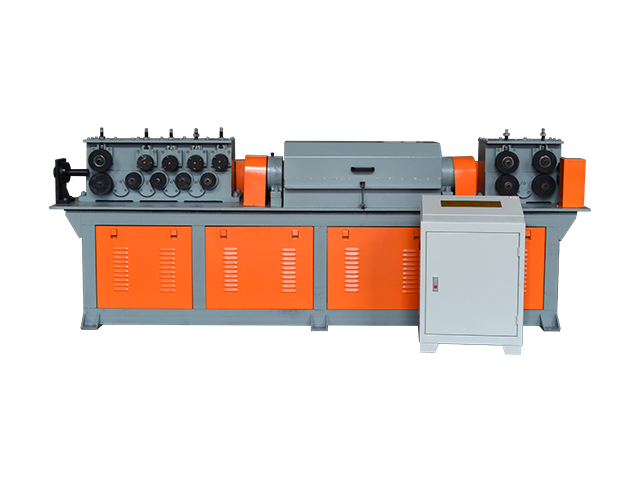 热轧三级钢液压校直切断机组HXSJ6-10 HXSJ6-12